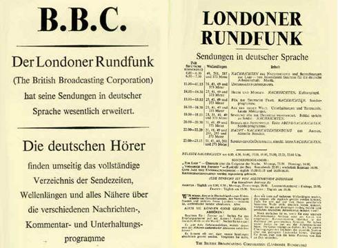 Die Rolle der BBC im WWII